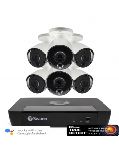 Swann 8MP SWNVK-885806 network Video Kit with 6 bullet cameras.