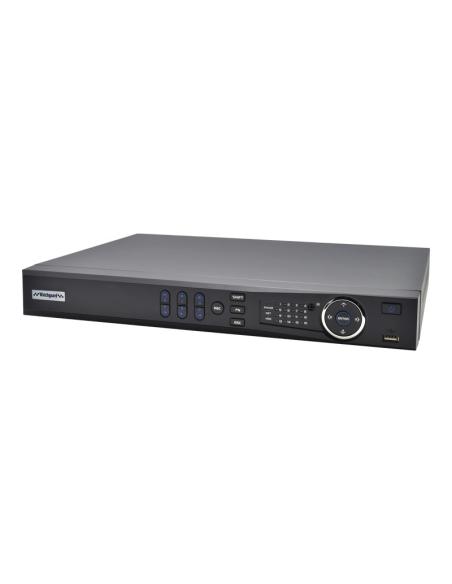WGuard Compact 8MP (200Mbps) 16Ch NVR16COM2 IP Recorder PoE No-HDD(Max20TB) 2xSATA