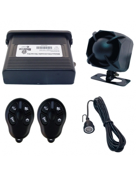 Rhino Car Alarm and Upgrade in One inc. 3 Point Engine Immobiliser and Glass Break Sensor