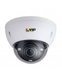 VIP Vision Ultimate Series 2.0MP IP Dome with ultra low light recording, 50m infrared 2.7 ~ 12mm motorised lens in a IP67/IK10 w