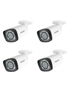 Uniden 2MP CVI 4PK GDCH10ML Motorised Lens Bullet Security Camera GCVR series