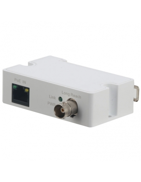 Ethernet over Coax Receiver VSEOC-ARX, RJ45 Ethernet PoE - BNC coaxial cable