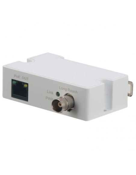 Ethernet over Coax Transmitter VSEOC-ATX, RJ45 Ethernet / coaxial cable, PoE