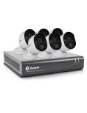 Swann 2MP SWDVK-845806V Voice Controlled CCTV Home Security 6 Cameras Kit (8x6)