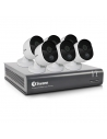 Swann 2MP SWDVK-845806V Voice Compatible CCTV Home Security 6 Cameras Kit (8x6)