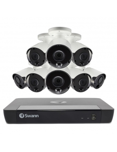 Swann 8MP SWNVK-885808 4K 2TB 8x NHD-885MSB True Detect Cams Audio NVR8-8580