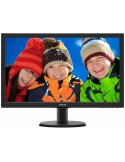 Philips 243V5QHABA 23.6in LED VGA/DVI/HDMI (16:9) 1920x1080 Speakers VESA Monitor