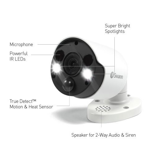 Swann SWNHD-887MSFB Security Cameras