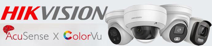 HIKVision Acusense colorVu accurate sensing technology