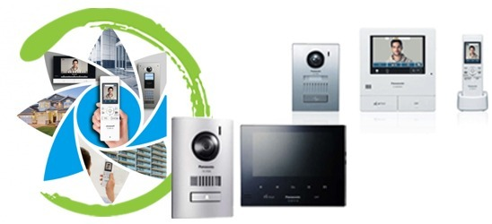 Panasonic video intercoms