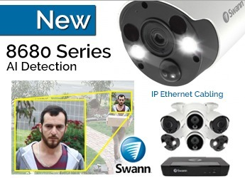 Swann 8680 AI UHD CCTV Systems - Top of the Line