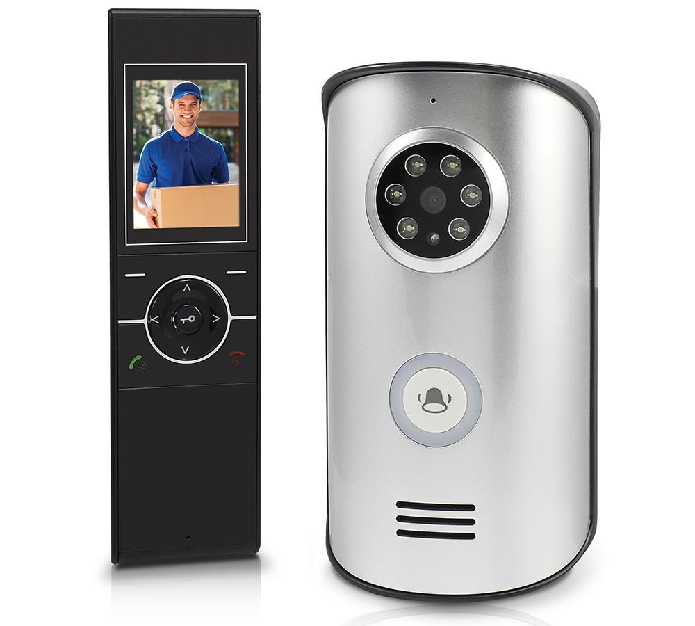 Wireless Intercom With Doorbell 24 Video Doorphone Controlled Electronics Project Swann Swwhd Dp890c Wit