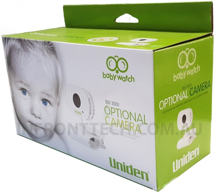 uniden optional baby monitor camera for bw3xx series infront tech au. Black Bedroom Furniture Sets. Home Design Ideas
