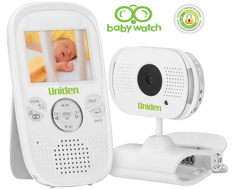 uniden bw3001 2 3 inch digital wireless baby video monitor ebay. Black Bedroom Furniture Sets. Home Design Ideas