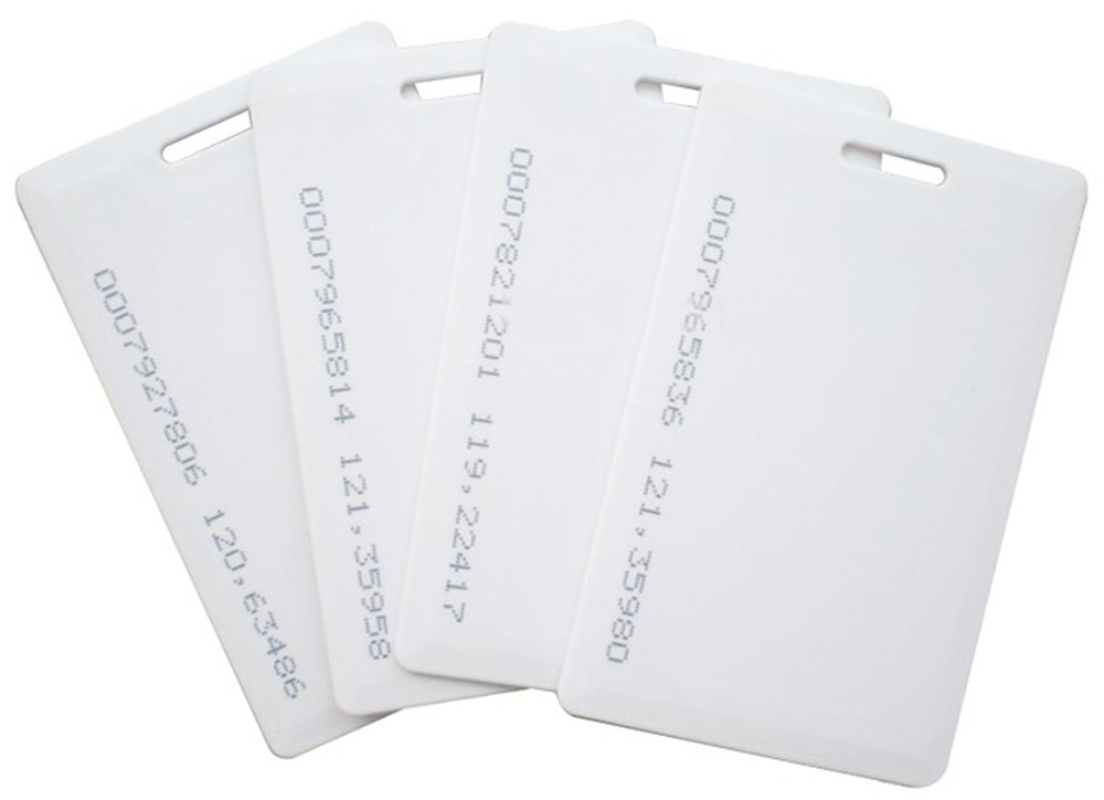 Watchguard 125KHz RFID Thick Proximity Cards (10 Pack)