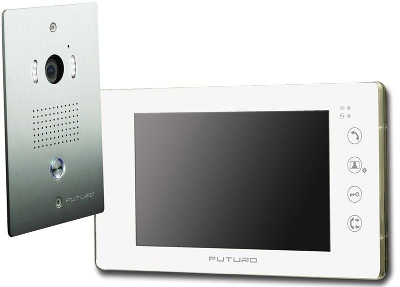 futuro-video-intercom-kit-with-1-x-white