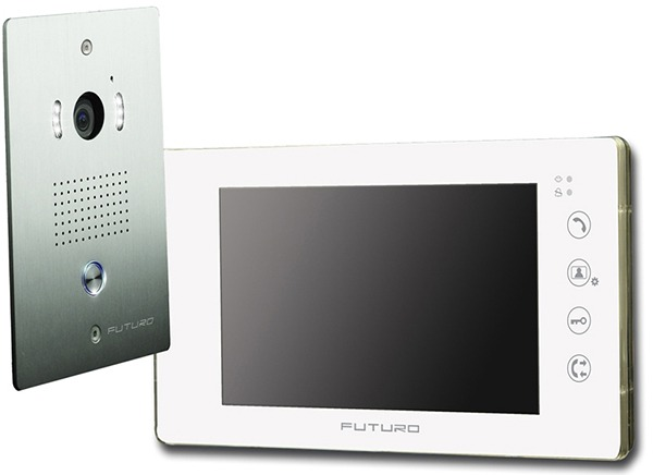 futuro-video-intercom-kit-with-gloss-whi