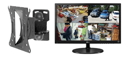 CCTV Monitors and LCD Brackets