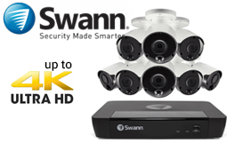 Swann Australia Ultra HD 4K 8MP CCTV Security Swannstore