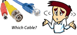 Choose the correct CCTV Cabling